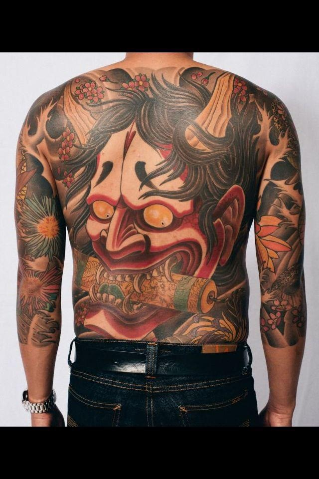 Traditional japanese back piece with 3 4 sleeves full for 3 4 sleeve tattoo