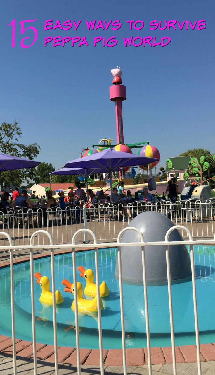 Children love Peppa Pig World but how about parents? 15 ways to survive a trip to Peppa Pig World