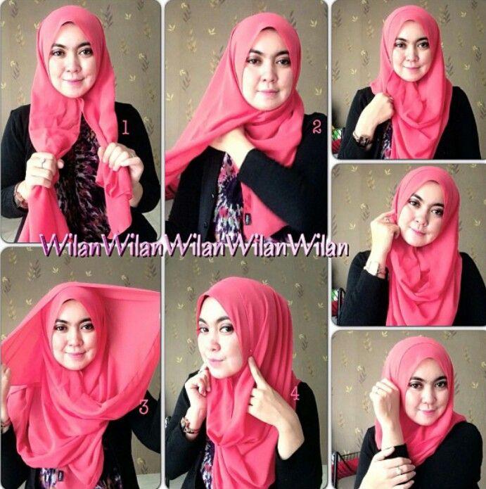 Daily hijab tutorial #hijabtutorialbywilansari
