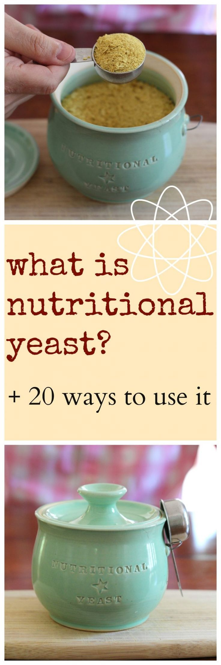 What is nutritional yeast? Plus, 20 ways to use it! All of the recipes are vegan & completely delicious.   cadryskitchen.com