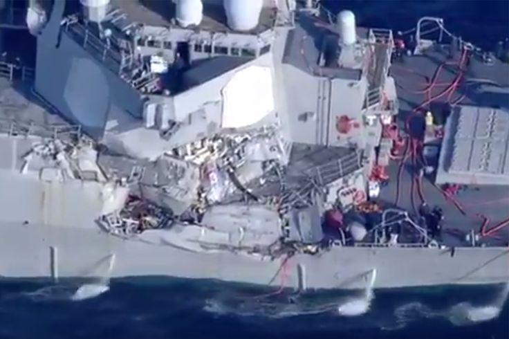 "US Navy destroyer collides with merchant ship off Japan, causing injuries Sitemize ""US Navy destroyer collides with merchant ship off Japan, causing injuries"" konusu eklenmiştir. Detaylar için ziyaret ediniz. http://xjs.us/us-navy-destroyer-collides-with-merchant-ship-off-japan-causing-injuries.html"