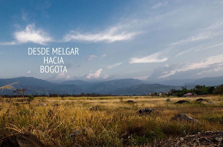 Entre Melgar y Bogotá