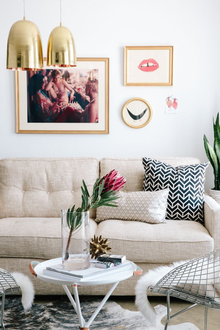 Killer color combo : beige & blush — The Decorista