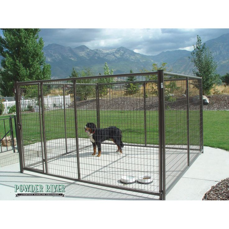 10' x 10' Complete Dog Kennel — FARMRANCHSTORE.COM   Farm & Ranch Equipment