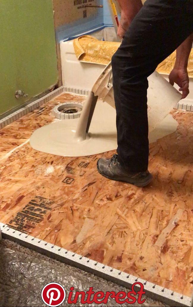 Floor Leveling Over Wood Subfloor Floor Leveling Over Wood Subfloor Diy Home Repair Diy Home Improvement Home Repairs