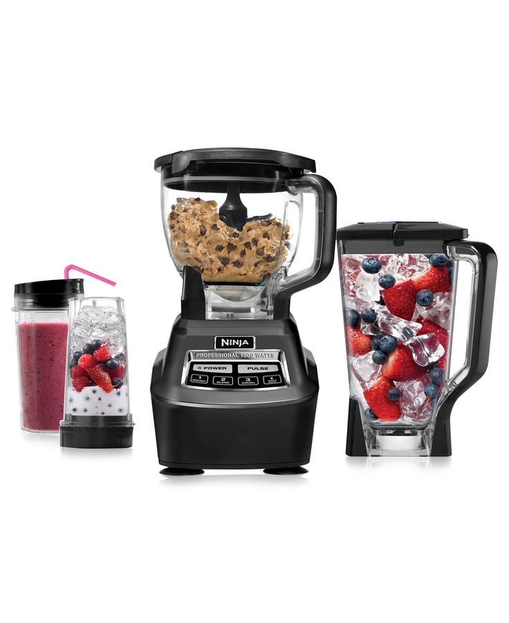 Ninja BL770 blender & food processor — planning a backyard bash? keep your guests cool with tasty frozen drinks