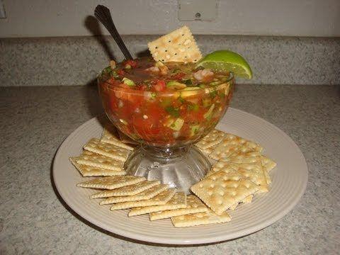 Como Hacer un Coctel de Camarones Delicioso Estilo Mexicano