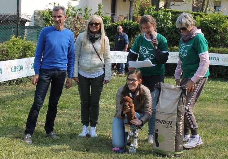 La vincitrice.. nella coppa! / The winner fits in the cup!