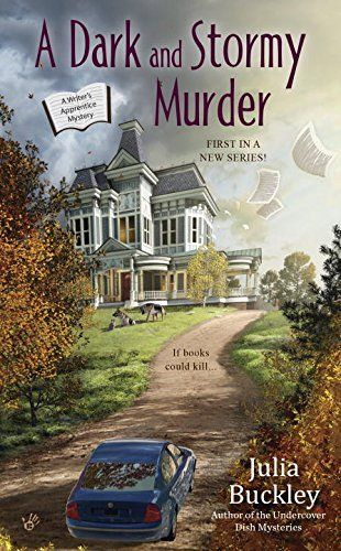 A Dark and Stormy Murder: A Writer's Apprentice Mystery by Julia Buckley http://www.amazon.com/dp/0425282600/ref=cm_sw_r_pi_dp_VTuQwb0FB15VK