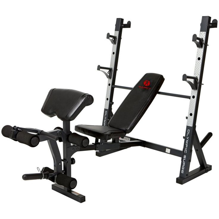 Marcy Diamond Olympic Surge Bench - MD 857