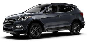 2017 Hyundai Santa FE Sport Black