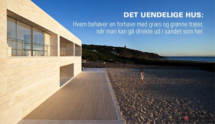 Det uendelige hus: Her går terrasse og hav i et