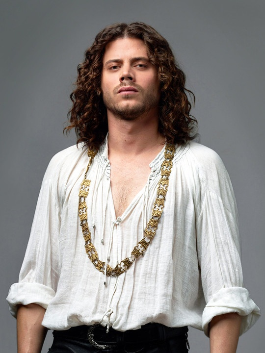 François Arnaud (CESEARE IN THE BORGIAS) I kinda love him, even though his character has ISSUES