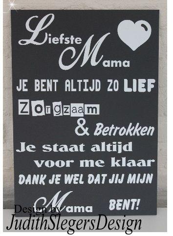 Liefste mama | teksten - Mama, Mama teksten en Moederdag
