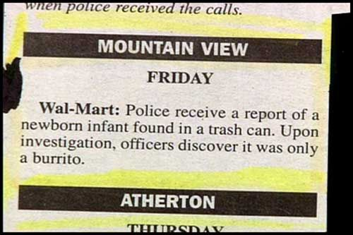 funny headlines | Re: FUNNY NEWSPAPER Headlines, Articles, Clippings, Ads and Misprints