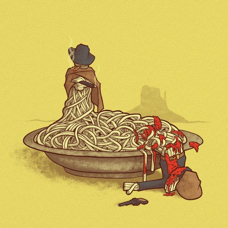 Spaghetti Western    by JordyTheGnome