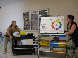 Article: Pros and Cons of Teaching on a Cart (for music and art teachers)