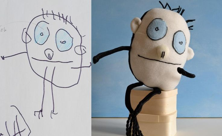 Send a kid's drawing to this company and they send you back a toy