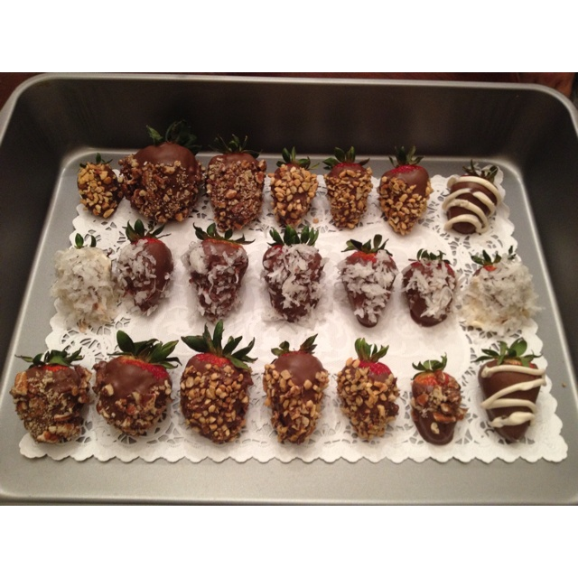 Homemade!!!: Gormet Desserts Recipes, Diy Crafts, Yummy Food, Crafts Pinterest, Chocolates Strawberries, Click Image, Chocolates Covers Strawberries, Popular Pin, Desserts Sweet