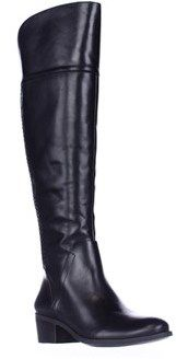 Vince Camuto Bendra Over-the-knee Woven Boots, Black.
