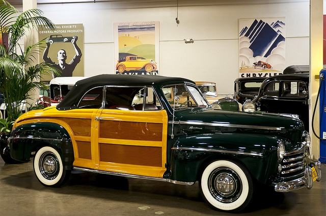 1947 Ford Sportsman Woody ConvertibleFord Sportsman, Convertible Crevier, Auto Classic, Orange County, Crevier 015, Woody, Pat Durkin, 1947 Ford, Hot Rods