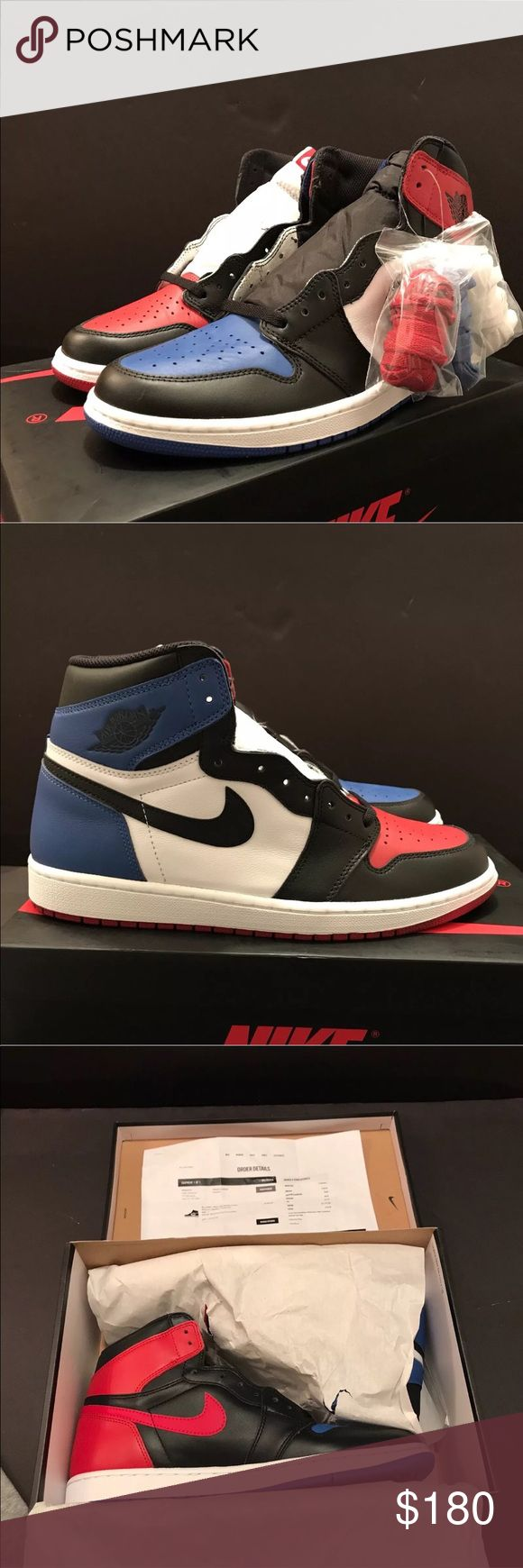 Air Jordan 1 Retro Top 3s 100% Authentic 🔷 We are a very negotiable service 🔷 We provide overnight shipping and express shipping 🔷 Our transactions are made through third party applications 🔷 If you are interested in buying this product please contact us @ 646-961-2836 🔷 Air Jordan Shoes Sneakers