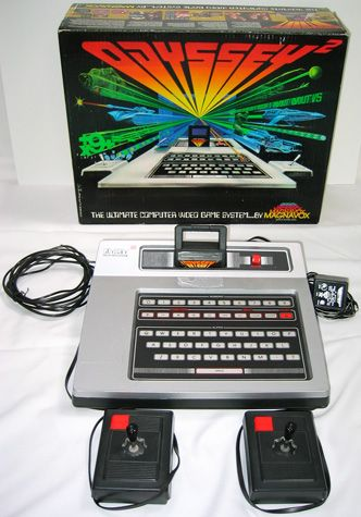 Odyssey video game system.  I thought Tim was so cool when he played this!