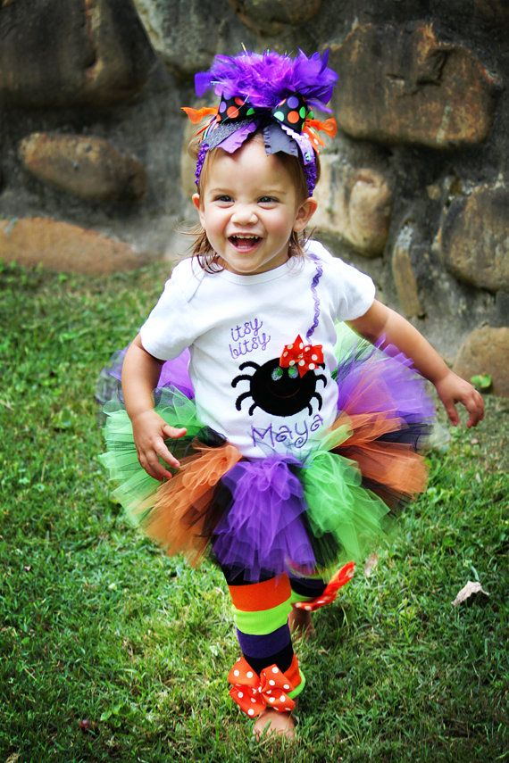 Halloween Outfit Baby Girl Halloween by DarlingLittleBowShop