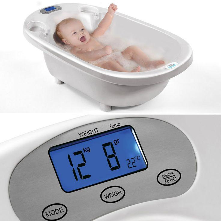 Aqua Scale akıllı bebek küvetleri, bebeğinizi yıkarken suyun sıcaklığını ölçer, bebeğinizi tartar ve bebeğiniz büyüdükçe küvetinizin de onunla beraber büyütmenize olanak tanır.  http://bebekform.com/bakim-ve-banyo/bebek-kuvet/aqua-scale/