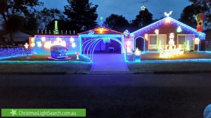 Christmas Lights in Kellyville, NSW. http://xmaslights.co/kellyv