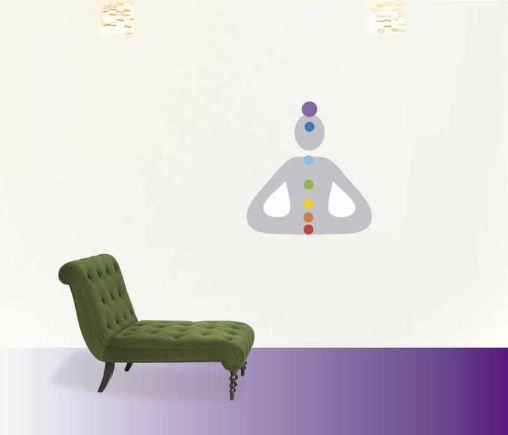 chacras #decoraconvinil #vinilosdecorativos #decoracion #decoratupared #chacras #yoga #meditacion