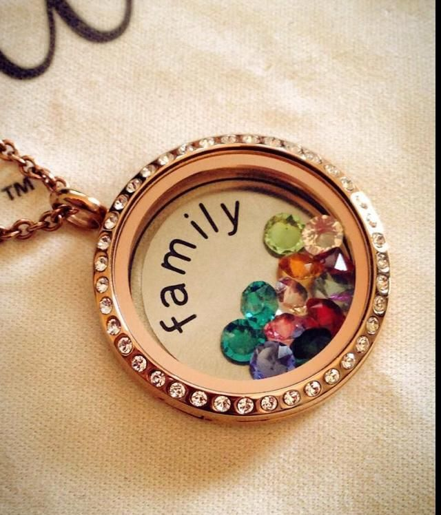 similar to a family ring but in a pendant....locket opens so you can add birthstones of any new additions to the family!! To view more locket ideas visit www.facebook.com/designedbyyoulockets or email dkruks@hotmail.com