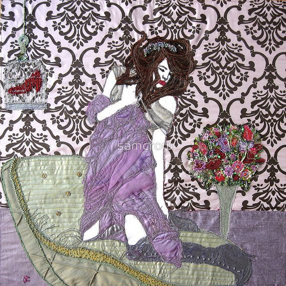 a blank greetings card with envelope  ' Captivated by RubyTrinket, £2.50