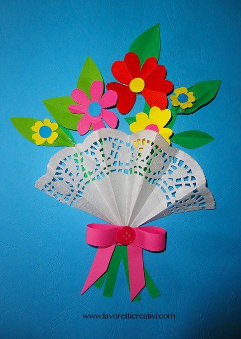 Le 25 migliori idee su bouquet di fiori di carta su for Fiori con la p