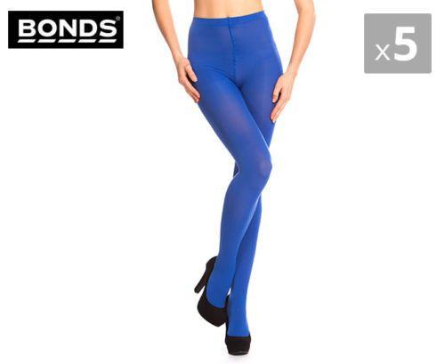 5-x-Bonds-Colour-Pop-Tights-Electric-Blue