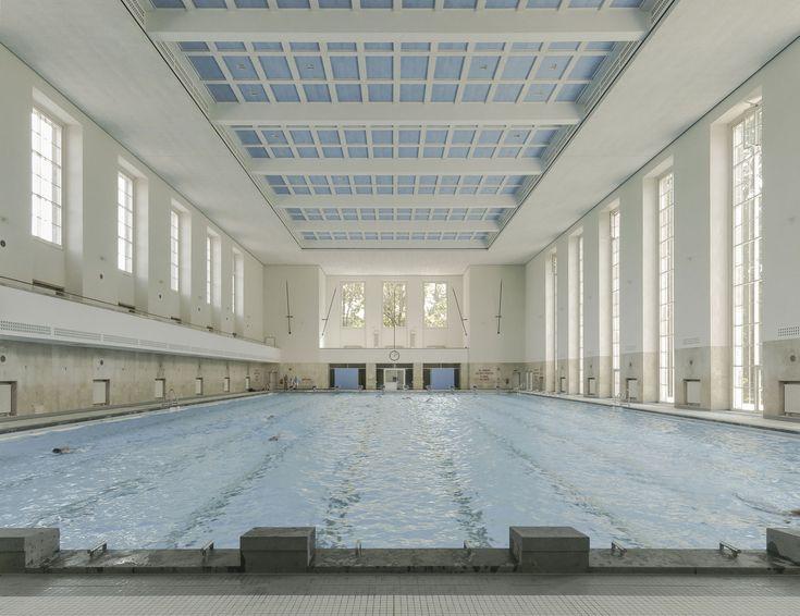 Schwimmhalle Finckensteinallee in Berlin - Fliesen und Platten - Sport/Freizeit - baunetzwissen.de