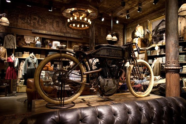 CHAD'S DRYGOODS: DOUBLE RL & THE LOVE FOR VINTAGE MOTORCYCLES