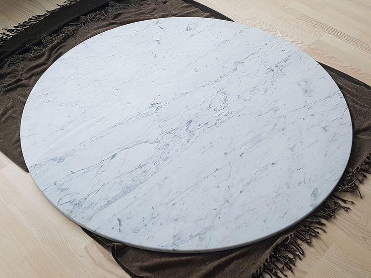 Runda bord! Glöm inte hur snyggt det kan bli :D  #design #inredning #kök#natursten #stockholm #göteborg #malmö #natursten #marmor #carraracd
