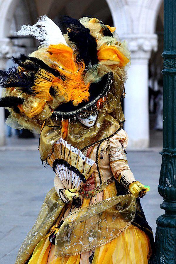 Carnival in Venice, Italy.