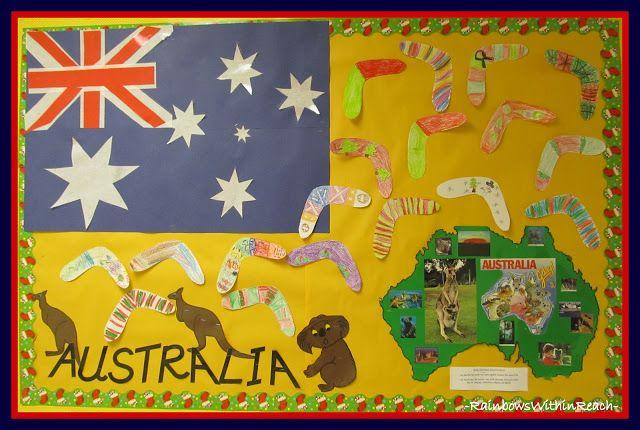 australia classroom decorations - Google Search @Carmon Arquette