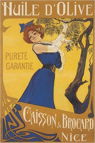 Huile d'Olive, Purete Garantie Fine Art Giclee Print