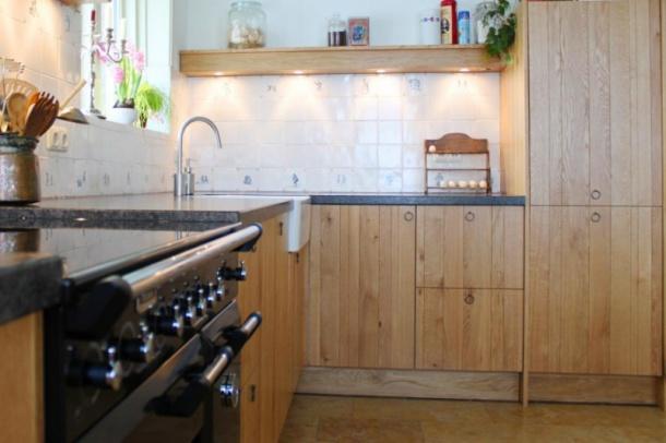 Greeploze Keuken Zelf Maken : keuken is door de familie zelf voorzien van echte handgemaakte witjes