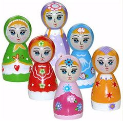 Party Bag Clip | Babushka Dolls | Russia Dolls – available at www.buildabirthday.co.nz