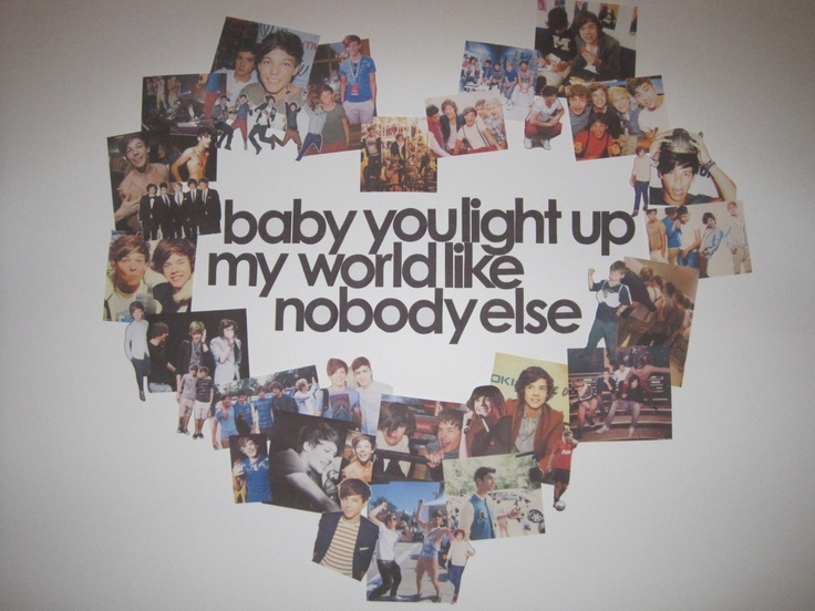 what makes you beautiful by one direction, so doing this for a collage for my friend.