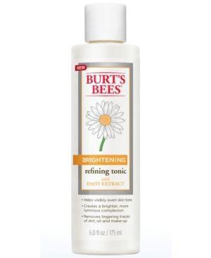Burt's Bees Brightening Refining Tonic, 6 oz