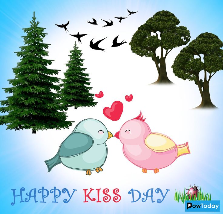 A first kiss 👩‍❤️‍💋‍👨 A formal kiss 😘 A passionate kiss 👩‍❤️‍💋‍👨 A goodbye kiss 👩‍❤️‍👨 Kissing day is celebrated to appreciate a kiss in its own right. Across the globe we embrace the kiss by embracing someone else. 6th July is celebrated as the World Kiss Day.