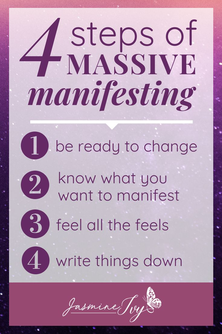 The Four Steps of Massive Manifesting