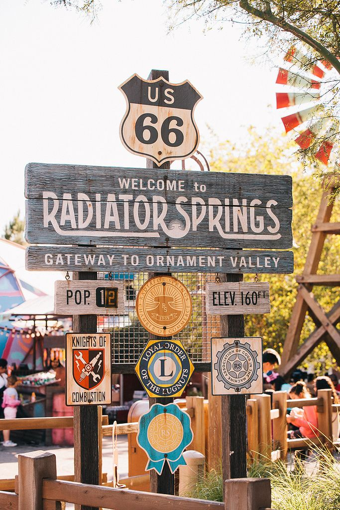 Radiator Springs Disney California Adventure Anaheim