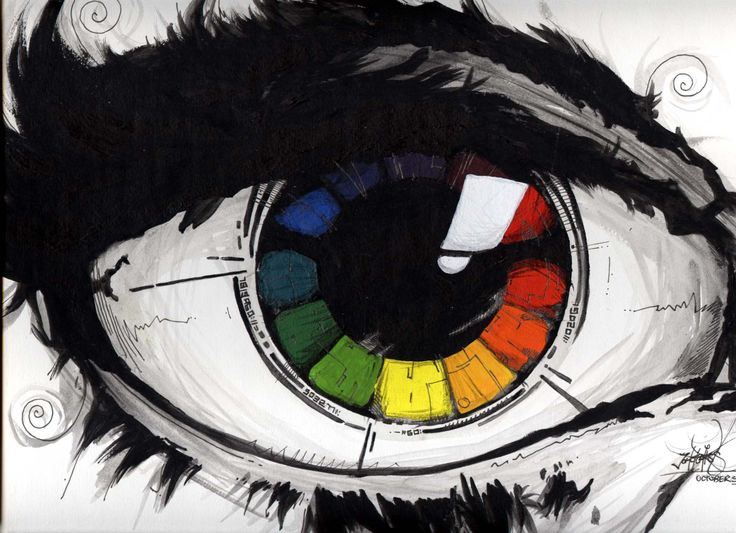 color wheel project.....add the color wheel to something and paint the rest black and white (also practicing values)