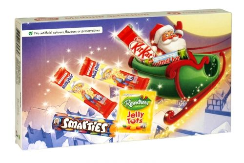 Nestle medium christmas selection box